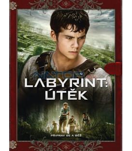 Labyrint: ÚTĚK (The Maze Runner) Knižní edice DVD