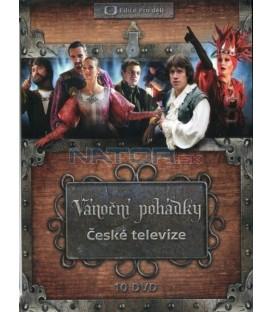 Vánoční pohádky České televize (10xDVD)