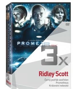 Kolekce: Ridley Scott (Černý jestřáb sestřelen, Prometheus, Království nebeské) 3DVD