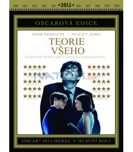 Teorie všeho (The Theory of Everything) DVD Oscar edice