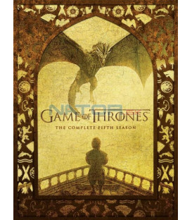 Hra o trůny 5. série 5 X DVD (Game of Thrones Season 5)