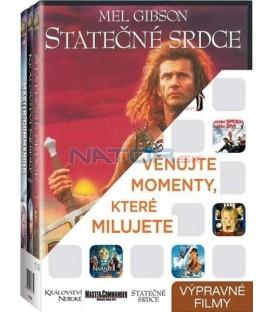 Výpravné filmy (Království nebeské,Master & Commander: Odvrácená strana světa,Statečné srdce) 3DVD