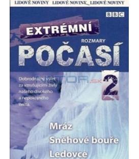Extrémní rozmary počasí 2 - Zima (Wild Weather: Cold) DVD