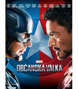 Captain America: Občanská válka (Captain America: Civil War) DVD