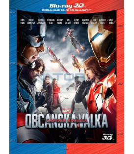 Captain America: Občanská válka (Captain America: Civil War) Blu-ray 3D + 2D