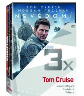 Kolekce:Tom Cruise (Minority Report, Nevědomí, Valkýra) 3DVD