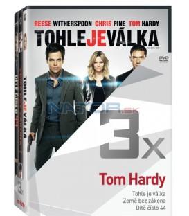 Kolekce:Tom Hardy (Tohle je válka, Země bez zákona, Dítě číslo 44) 3DVD