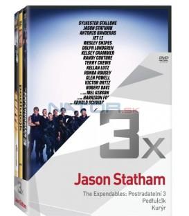 Kolekce: Jason Statham (Postradatelní 3, Podfuck, Kurýr) 3DVD