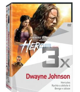 Kolekce:Dwayne Johnson (Hercules, Rychle a zběsile 6, Benga v záloze) 3DVD