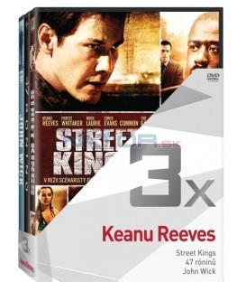 Kolekce:Keanu Reeves (Street Kings, 47 róninů, John Wick) 3DVD