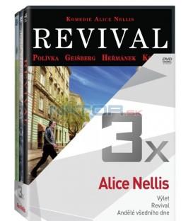 Kolekce:Alice Nellis (Perfect Days, Revival, Andělé všedního dne) 3DVD