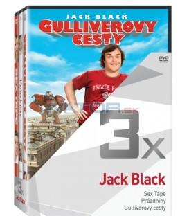 Kolekce:Jack Black (Sex Tape, Prázdniny, Gulliverovy cesty) 3DVD