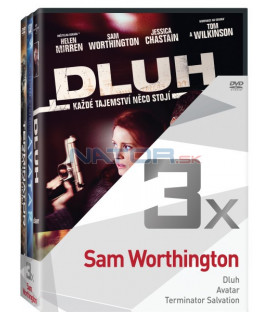 Kolekce:Sam Worthington (Dluh, Avatar, Terminator Salvation) 3DVD