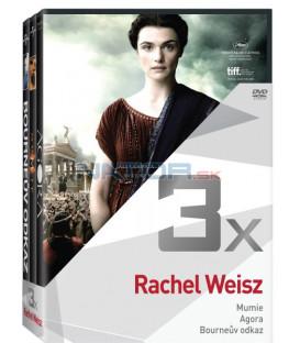 Kolekce:Rachel Weisz (Mumie, Agora, Bourneův odkaz) 3DVD