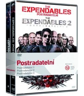 Kolekce:Postradatelní 1.-3. díl Expendables (3DVD)