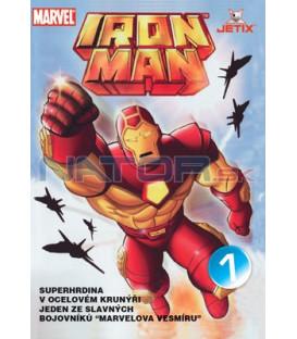 Iron Man 1 - kolekce 4 DVD (1-4)