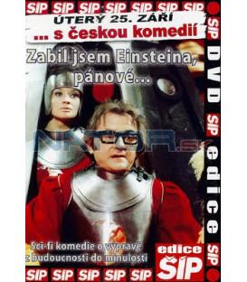 Kolekce 3 DVD Česká klasika 4 - Zabil jsem Einsteina, pánové, Hoří, má panenko, Zítra vstanu a opařím se čajem