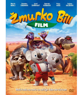 Mrkáček Bill - Žmurko Bill (Blinky Bill the Movie) - SK/CZ dabing DVD