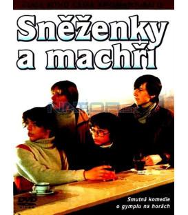 České filmy 3 - Kolekce 3 DVD - Snowborďáci, Láska z pasáže, Sněženky a machři
