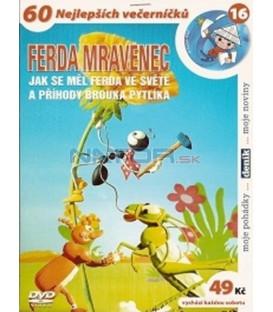 Ferda - kolekce 3 DVD (Ferda Nová dobrodružství ½, Ferda Nová dobrodružství ¾, Ferda jak se měl ve světě)