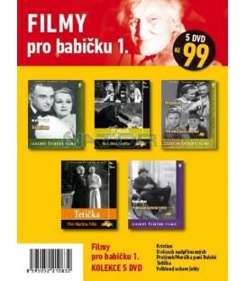 Filmy pro babičku 1 - kolekce 5 DVD