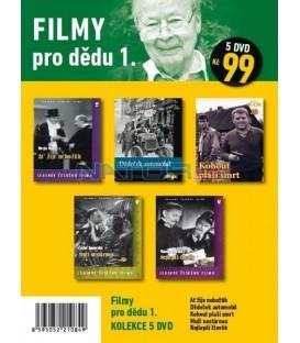 Filmy pro dědu 1 - kolekce 5 DVD
