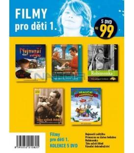 Filmy pro děti 1 - kolekce 5 DVD