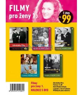 Filmy pro ženy 1 - kolekce 5 DVD