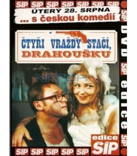 Iva Janžurová - kolekce 3 DVD - Drahé tety a já, Svatba jako řemen, Čtyři vraždy stačí, drahoušku
