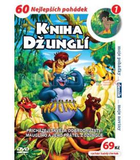 Kniha džunglí 1 - kolekce 4 DVD
