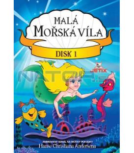 Malá mořská víla 1 - kolekce 3 DVD