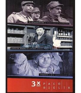 Kolekcia: Paľo Bielik 3 x film DVD