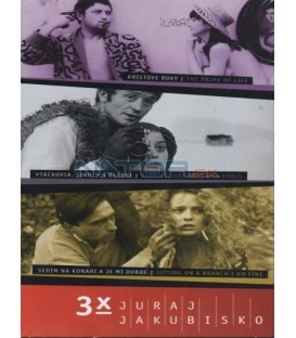 Kolekcia: Juraj Jakubisko 3 x film DVD