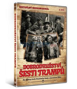Dobrodružství šesti trampů 2 DVD