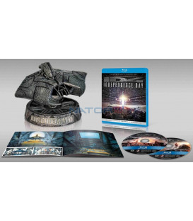 Den nezávislosti (Independence Day)  Alien attacker 20. výročí prodloužená verze+bonusy Blu-ray