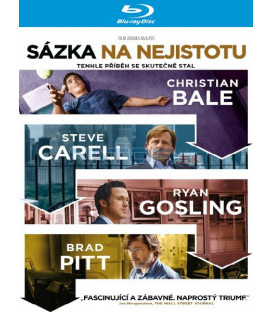 Sázka na nejistotu (The Big Short) Blu-ray
