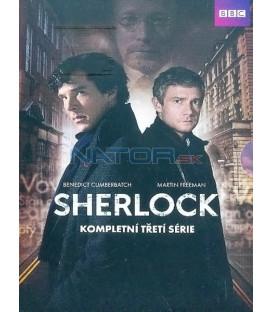 Sherlock 3. séria 3 X DVD seriál