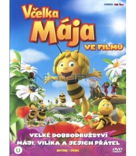 Včelka Mája ve filmu DVD