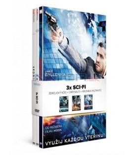 Kolekce Sci-fi: Zdrojový kód + Chrysalis + Kronika mutantů 3 DVD