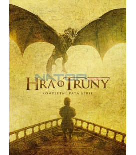 HRA O Trůny 5. série 5 X DVD (Game of Thrones Season 5) Viva balení