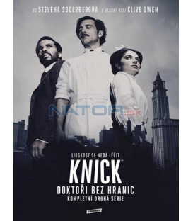 Knick: Doktoři bez hranic 2. série (The Knick Season 2) 4DVD