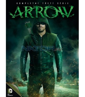 Arrow 3.série 5DVD (Arrow Season 3 5DVD)