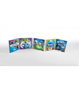 7 DVD BlueSky kolekce (Rio, Rio 2, Doba ledová 1-4, Království lesních strážců)