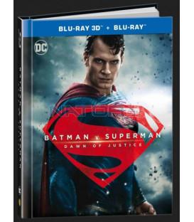 Batman vs. Superman: Úsvit spravedlnosti (Batman v Superman: Dawn of Justice) 2D BD+prodlouzena verze digibook