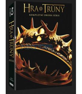 HRA O TRůny - 2. SÉRIE  (Game of Thrones) Blu-ray (5 BD) - VIVA balení CZ DABING !!