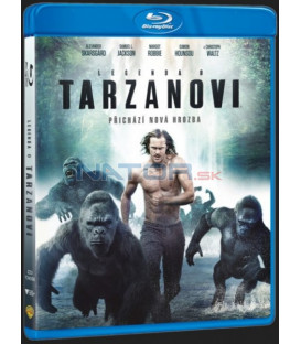 Legenda o Tarzanovi (The Legend of Tarzan) 2016 Blu-ray