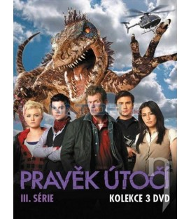 Kolekcia: Pravek útočí 3.séria 3xDVD (Primeval) DVD