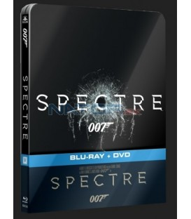 SPECTRE (JAMES BOND 007 - 24) 2x Blu-ray disky STEELBOOK