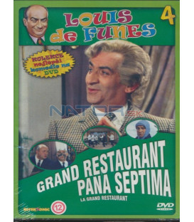Luis de Funes 4: Grand restaurant pana Septima (Grand restaurant, Le) DVD