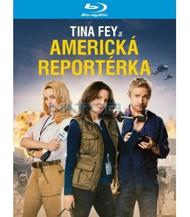 Americká reportérka (Whiskey Tango Foxtrot) Blu-ray